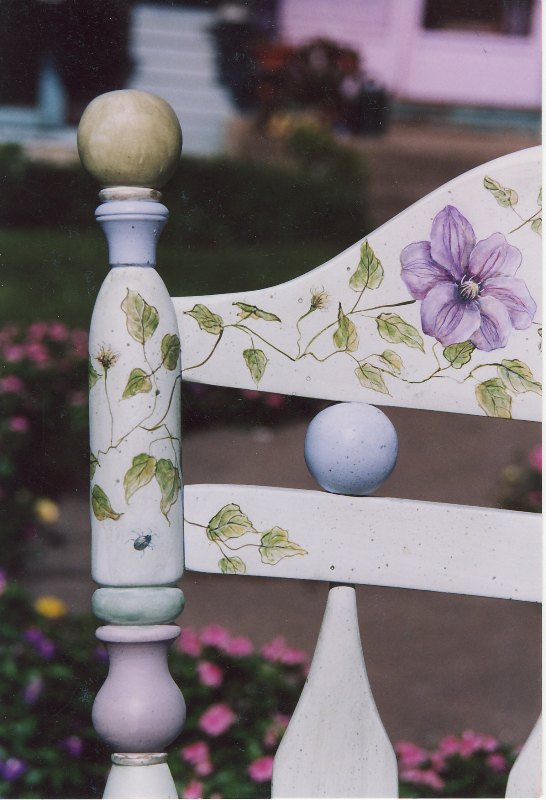 Clematis Rocking Chair