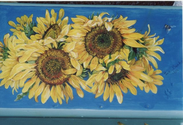 Sunflower Stool