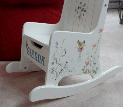 Fairy Flower Rocker