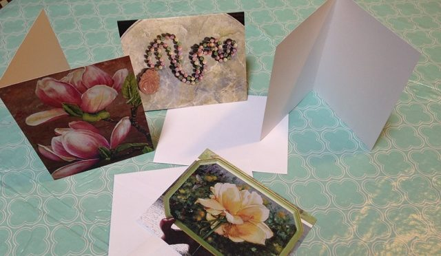 Note Cards From my Paintings!