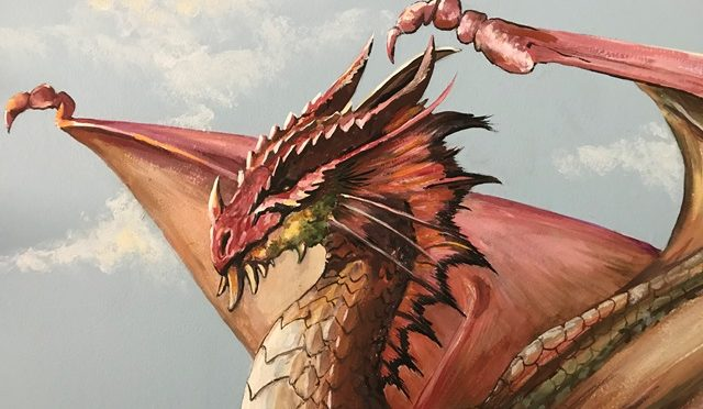 Dragon Guardians Mural